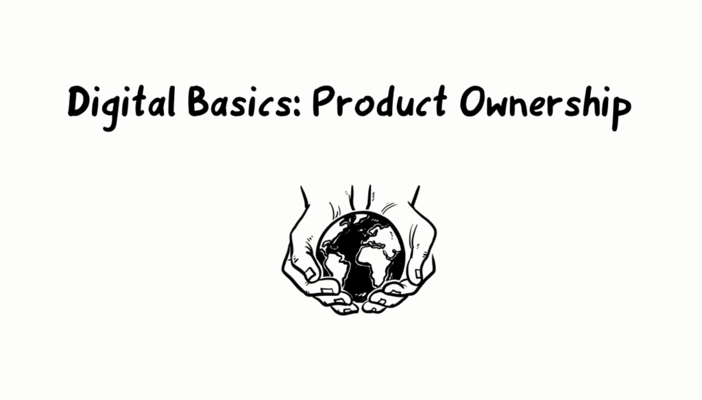 Digitaler Wandel: product ownership